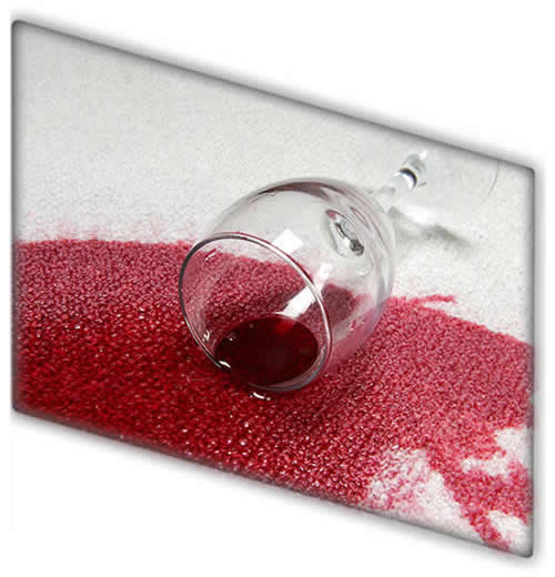 Spot Stains and spills are no match for Go Clean's specialised spot & stain treatment service